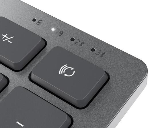 Клавиатура+мышь DELL KM7120W 580-AIWS, цвет серебристый
