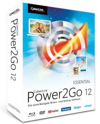 CyberLink Corporation Cyberlink Power2GO 12 (академическая версия Deluxe ), P2G12USDEE04