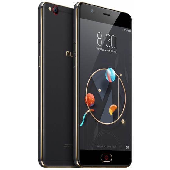 Смартфон ZTE N  Nubia M2 32 ГБ черный