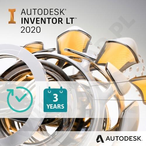 Autodesk Inventor LT (продление электронной версии), локальная лицензия на 1 год, 529H1-005320-T874