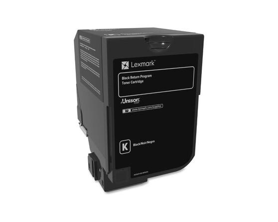 Тонер-картридж черный Lexmark 74C5HKE