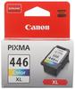 Картридж голубой, желтый, пурпурный Canon CL-446XL, 8284B001