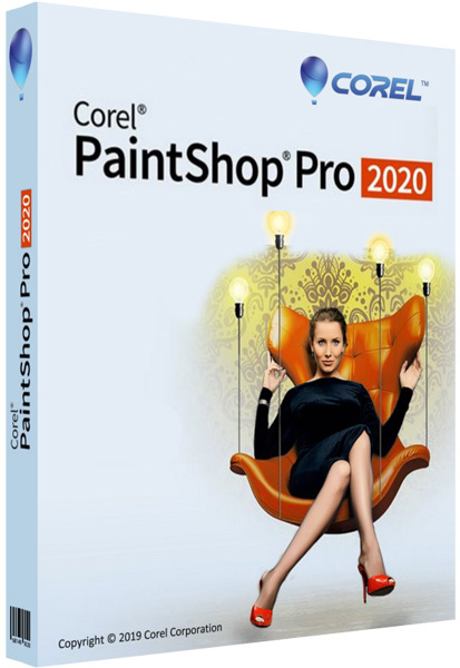 Corel Corporation Corel PaintShop Pro 2020 (обновление Education Edition CorelSure Protection на 1 год), цена за 1 лицензию, LCPSPML1MNTA1