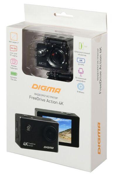 Видеорегистратор DIGMA Action 4K
