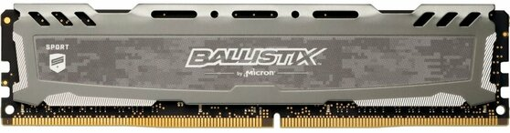 Оперативная память Crucial Desktop DDR4 3200МГц 16GB, BLS16G4D32AESB, RTL