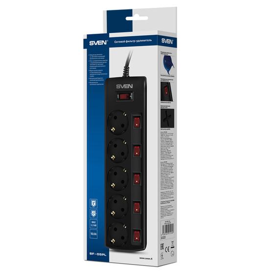 Сетевой фильтр SVEN Сетевой фильтр SV-015169