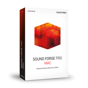 Magix MAGIX SOUND FORGE Professional Mac 3 (лицензия EDU & GOV), версия ESD Site, ANR007608EDUL2